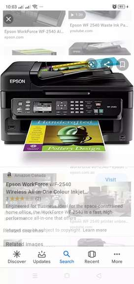 Epson stylus photo wf2540 WiFi all-in-one printer