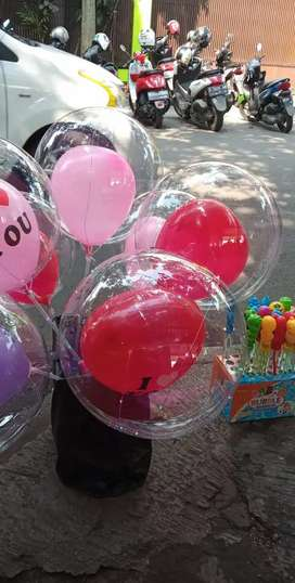 Balon led nyala