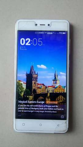 Gionee F103 Pro, 3gb & 16 gb, 4G - phone, in good condition.