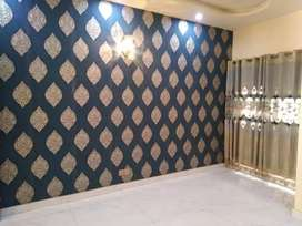 3D Wallpaper and blinds