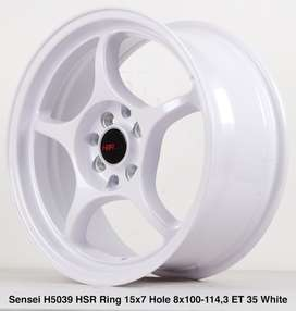 SALE SENSEI 5039 HSR R15X7 H8X100-114,3 ET35 WHITE