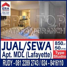 Dijual/Disewakan Apartemen MDL Laffayete Semarang