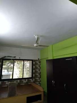 big cidco flat can b converted to 2bhk at bolinj naka, car parking