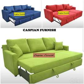 34 New Stocks of good quality L shape sofa cum bed