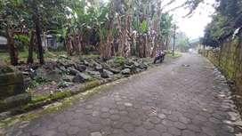 Tanah di Barat Balai Desa Pendowoharjo. Sleman