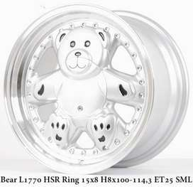 BEAR Velg keren  HSR R15X8 H8X100-114,3 ET25 SML