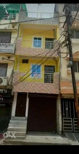 House For sell..Semi Comercial Property, Near:D-Mart Jahangirabad BPL.