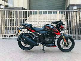 Tvs apache rtr 200 abs .2019  1st owner good condition at SS MOTORS