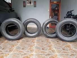 Ban Mobil Pajero Sport Exceed Ring 17, Ukuran 265/65 Kondisi 70%