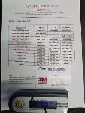 Kaca film mobil 3M garansi5thn resmi