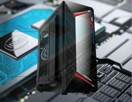 PC Rakitan Mid End Office I5 2400 8GB DDR3 SSD 120GB