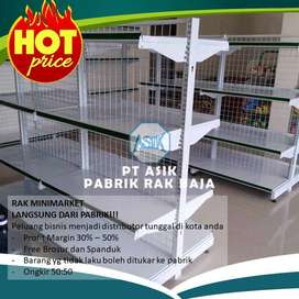 Rak Toko Ritel Supermarket dan Pusat Perlengkapan Toko