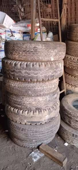 Old tyre for car, zypsy motor cycle etc