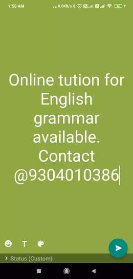 CBSE English Tution