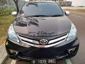 Toyota Avanza G manual 2012 hitam km 90 rban