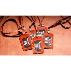Id card / card holder kulit sapi asli pull up