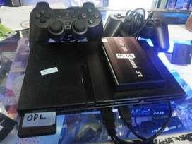 PS2 Slim HD Hardisk eksternal 40GB isi FULLGame banyak