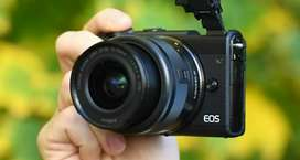 Canon m100 mirrorless cam (Sail) or (Exchange) rent also interested