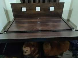 King size bed with hydrolic in good condition