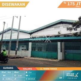 Disewakan Gudang Jl Taman Tenaga Kota Malang Cocok Untuk Usaha