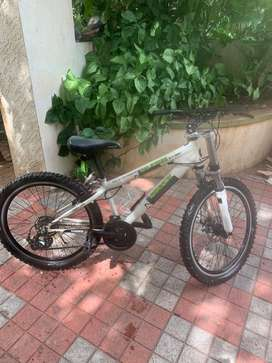 Firefox bad attitude 24 disc with dual suspension