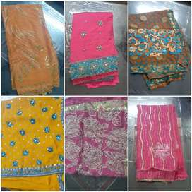 11 Designer Sarrees @1000 each