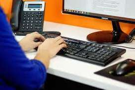 data entry work at home base job computer is must