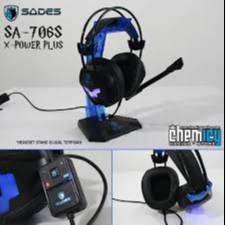 Headset Gaming Sades XPower 706S