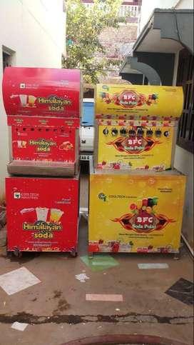 juice soda fountain fridge