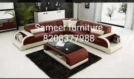 L shape sofa set curnar set Sameer furniture 57