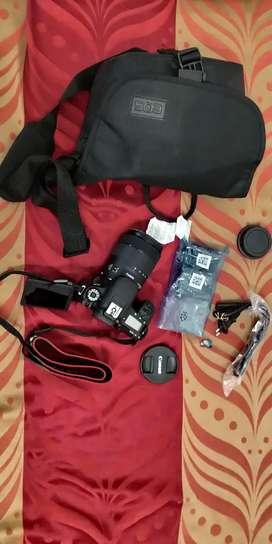 Canon EOS 77D 24.2MP DSLR Camera + EF-S 18-135mm Lens