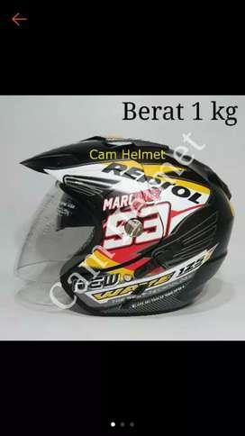 Helm double visor 2 kaca