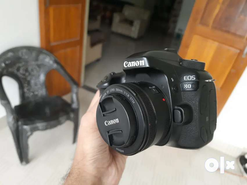 Canon 80D with 50mm, 55-250mm, 18-55mm