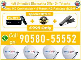 Special Offers!! Tata sky SD/HD Tatasky, Airteltv, Dishtv, VIdeoconD2H