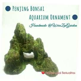 Batu buatan Tebing Aquarium