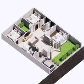 Rumah cantik dekat 10 kampus besar Jogja