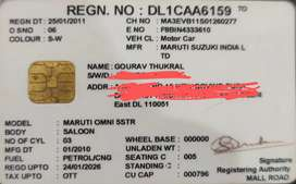 Maruti Suzuki Omni 2010 CNG & Hybrids 200000 Km Driven
