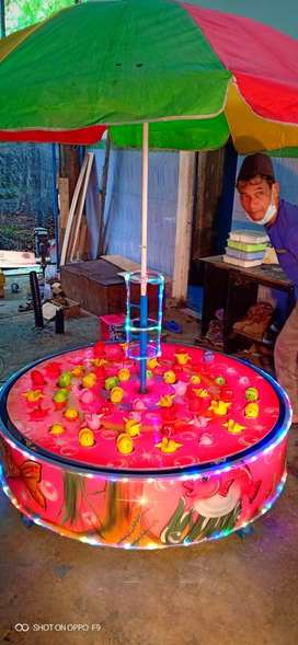 Jual pancingan ikan elektrik mainan odong pasar malam M6
