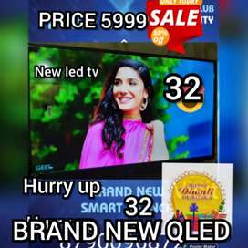 43 INCH SMART 4k LED tv Full HD Qled smart WITH 2 year warranty