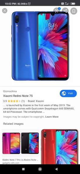 Mi note 7s 32gb with 32gb SD card