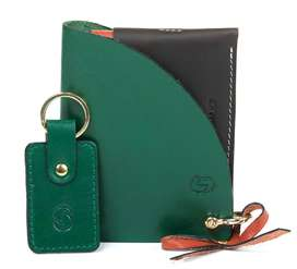 Slender Snake Angel Knot Ladies Wallet - Clutch Wallet