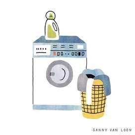 Di cari karyawati laundry