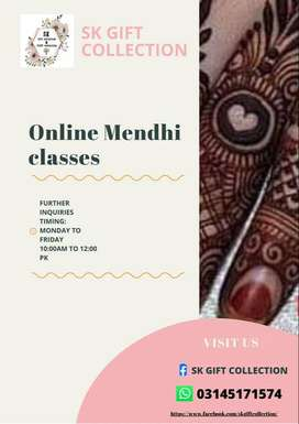 ONLINE MENDHI CLASSES (SK GIFT COLLECTION)