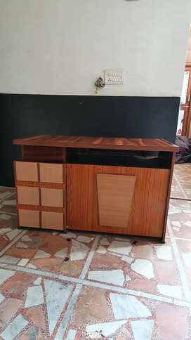 Counter,Almirah,Dressing Table,Shoes Reck and many more items