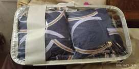 Bedsheet.  ,2Cushionsfilled.  ,2pillow cover