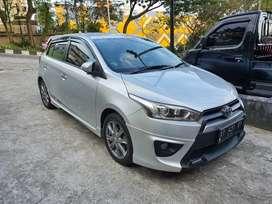 Toyota Yaris 1.5 S TRD sportivo AT tahun 2014 Silver metalik
