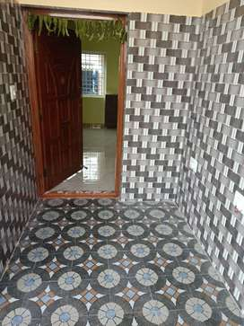 Newly Built 2 BHK on 1st and 2nd floor with semi furnished