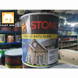 PROPAN STAR STONE CAT VERNIS COATING BATU ALAM 1 KG