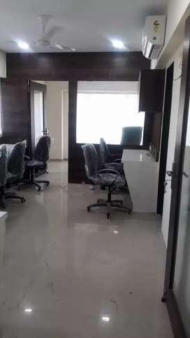 Well furnished office with 8 work station