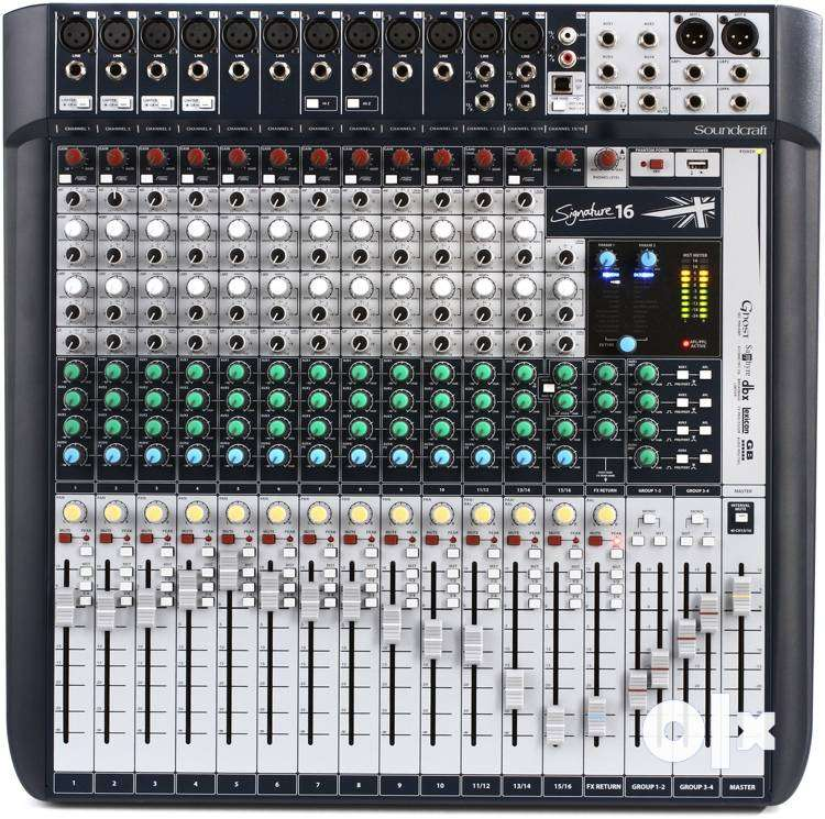 Sound Mixer - SoundCraft Signature16 0